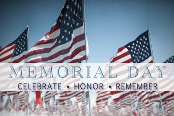 Memorial Day Hours, 5/30